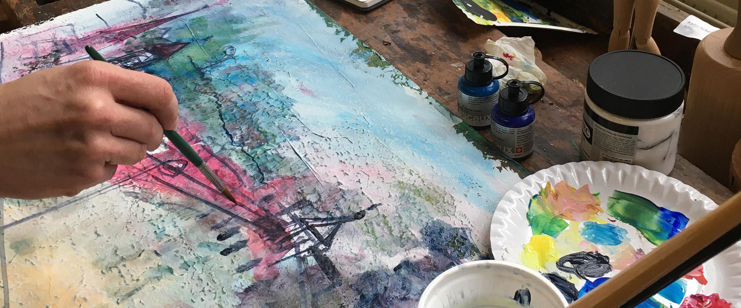 Kunst-und Gestaltungstherapie